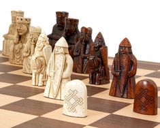 4 Queens Staunton Triple Weighted Chess Pieces Set 34 Khaki Gold /& Purple