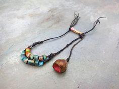 porcelain beads by greybirdstudio