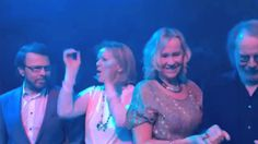 ABBA Reunion Footage 2016! The Way Old Friends Do  MIX