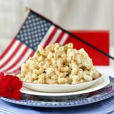 All-American, backyard cookout or picnic Macaroni Salad