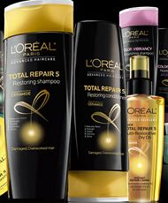 FREE Sample of LOreal Total Repair 5 (Updated)! This offer is still available if you missed this yesterday. on http://hunt4freebies.com/
