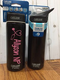 NEW! superfast personalized camelbak Chute or Eddy stainless vacuum insulated by AliciaBeam on Etsy