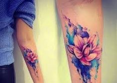 Image result for flower tattoos bird inner arm