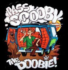 ☯☮ॐ American Hippie Psychedelic Herbal Weed ~ Pass Scooby the Doobie