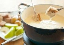 Classic fondue- for the cheese lovers!!