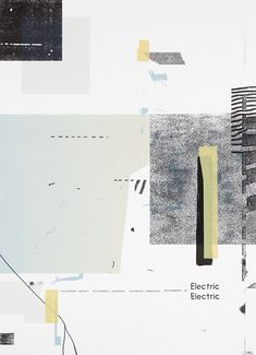 It's Nice That | Damien Tran's collaged gig posters are simple yet distinctive