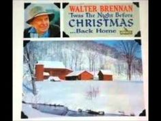 old time christmas stories walter brennan