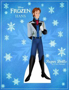 Bambole Carta Frozen 04