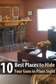 10 Best Places to Hide Your Guns in Plain Sight
