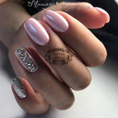 Best Beauty Nails Part 16 Get Nails, Pink Nails, Army Nails, Nail Mania, Pearl Nails, Nagel Hacks, Nail Time, Diamond Nails, Nail Polish Colors
