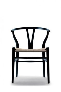 Hans Wegner CH24 The Wishbone Chair https://emfurn.com/collections/dining-chairs
