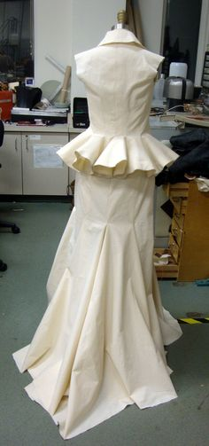 Couture Historique: Turn of the Screw Mock Up