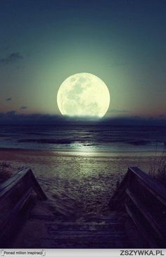 beautiful~ every  time I see the moon I think of that story of the sun and the moon how he loves the moon so much he dies for her every night:)