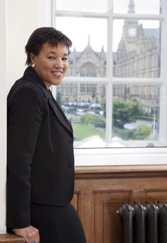 NB. Patricia Janet, Baroness Scotland of Asthal (b.1955) is a British barrister, and served in many ministerial positions within the UK Government, most notably as the Attorney General for England and Wales and Advocate for Northern Ireland. She was born in Dominica, she was appointed Attorney General by PM Gordon Brown, the first woman to hold the office since its foundation in 1315. When Labour was defeated in 2010, she became the Shadow AG. She is currently a president of Chatham House.