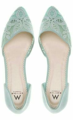 Need these mint shoes