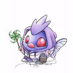 Geek-Art.net, thenintendard: Baby Pokemon and their Final Forms!