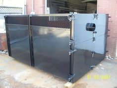 custom leaf box for Fall & Spring clean up's. Handicap Ramps, Spring Clean Up, Balcony Railing, Fence Gate, Locker Storage, Iron, Windows, Craft, Fall