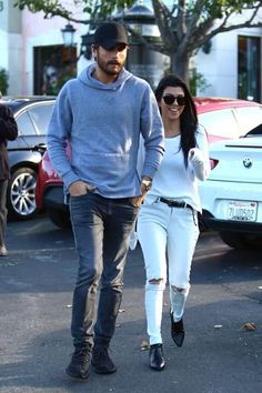 A Beaming Kourtney Kardashian and Scott Disick Spark Reconciliation Rumors at Lunch