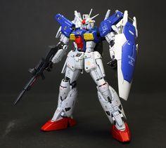 RG 1/144 Gundam GP01Fb Full Burnern: Painted Build. Photoreview No.18 Big Size Images. Modeled by Tai's Factory [zgmfxg]