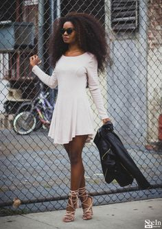 Long Sleeve Dressvia Shein - Long Sleeve Dress via Shein https://plus.google.com/105551423657440743751/posts/7YSbcP5zDnH