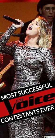 most successful voice contestants