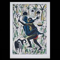 Seven African Legends of Bahia portfolio w6 works by Carybé