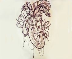 Top 10 Elephant Tattoo Designs