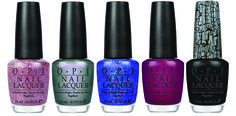 "Katy Perry's OPI collection. I want ""Black Shatter"" so bad."
