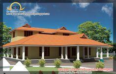 elevation 0119 kerala home elevations pinterest house house
