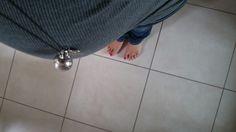 Foto pancia in gravidanza - inquadratura dall'alto