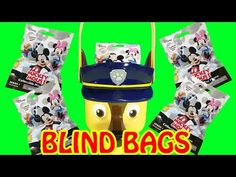 Disney Mickey Mouse Collectible Mini Figure Blind Bag Surprise Toys Paw Patrol Chase | LittleWishes - YouTube