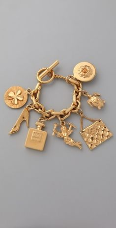 I think every girl loves charm bracelets, whether they admit it or not. They're so classic!