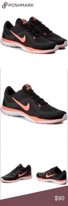 09e727e6c040 Nike Flex Sneakers Nike Flex Trainer 6 VI Black Lava Glow Women Training  Shoes
