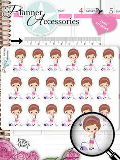 Sticker - Emely Sticker Staubsaugen Sticker NR1082 - ein Designerstück von…