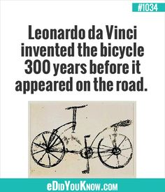 Inventor & a painter. Wtf Fun Facts, True Facts, Odd Facts, Random Facts, Random Things, The More You Know, Good To Know, Did You Know, Leonardo Da Vinci Facts