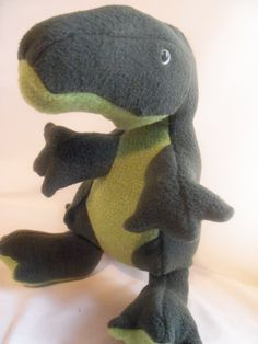 Green T Rex Plush Toy. $20.00, via Etsy.
