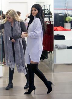keeping-up-with-the-jenners: November 20, 2014- Kylie Jenner Shopping at Nasty Gal's in West Hollywood www.redreidinghoo... 50 11