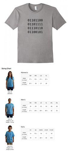 Mens Binary LOVE Computer, Engineering or Technology Geek T-shirt Small Slate