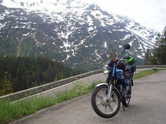 Met de Zundapp 529 naar Zwitserland en terug in 2012. Zie http://www.zundapp529.nl/