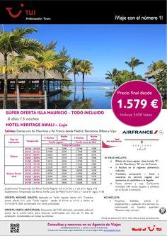 Súper oferta MAURICIO - Hotel Heritage Awali en ¡Todo incluido! Precio final desde 1.579€ - http://zocotours.com/super-oferta-mauricio-hotel-heritage-awali-en-todo-incluido-precio-final-desde-1-579e-4/