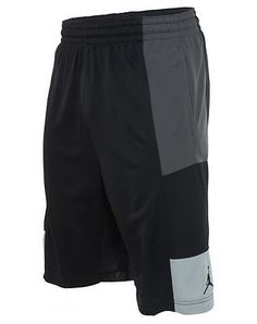 Jordan Trillionaire Basketball Shorts Mens  Active Shorts 589109-020 Black SZ-L