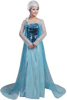Women's Cosplay Dress Halloween Party Costume Adult or Kids #costume #deals