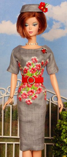 Spring Grace for Silkstone Barbies by HankieChic on Etsy