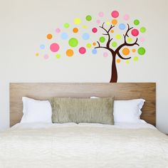 Colorful Tree Wall Sticker