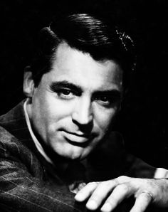 Cary Grant portrait by Ernest A. Bachrach for Alfred Hitchcock's Suspicion, 1941.