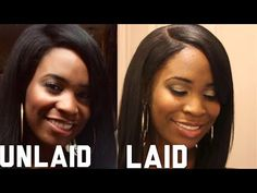 How To Lay Your Wig With Natural Edges - Black Hair Information