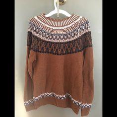 GAP sweater! Woven GAP sweater GAP Sweaters Crew & Scoop Necks