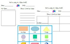 Once Upon a First Grade Adventure: Math Workstations Chapter 7: Geometry