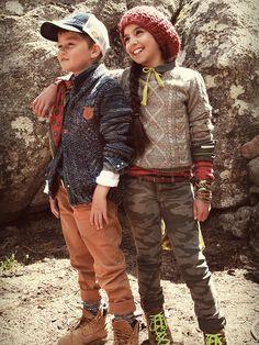 Le Temps des Cerises junior & Japan R*gs lookbook: Vintage fashion clothing for kids