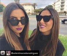 Valentina and Vitoria with Vilanova sunglasses ! Share your looks with us #VilanovaAndYou 💕